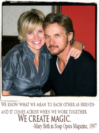 Feel The Magic Where Fans Celebrate Stephen Nichols And Mary Beth Evans